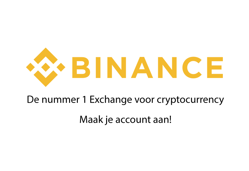 Maak nu je account aan bij Binance